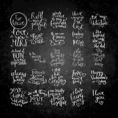 Hand written calligraphy quote motivation for life and happiness on blackboard. For postcard, poster, prints, cards graphic design.