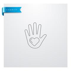 icône charité / solidarité