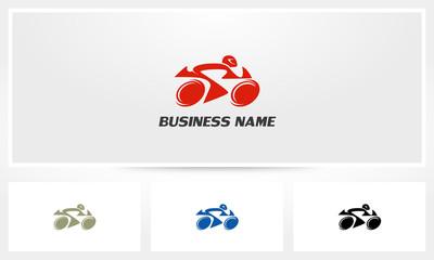 Motorcycle Motorbike Rider Logo