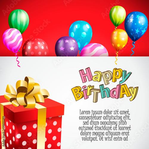 Birthday invitation card birthday background stock image and birthday invitation card birthday background filmwisefo