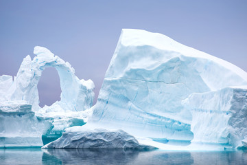 Canvas Prints Antarctica Ice Formation in Antarctica. Just beyond the Gerlache Straits is where this Ice Garden exists