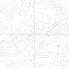 Abstract Retro Topography map Background