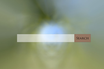 Search bar web on multi colored abstract background