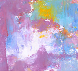 Spoed Foto op Canvas Wereldkaart Colorful Abstract Painting Background. Natural Highly-Textured of Oil Paint. High Detail.