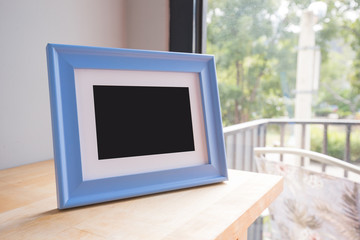 photo frame at room