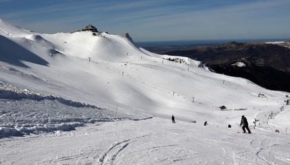 Le Mont-Dore, célèbre station de ski, Auvergne, France