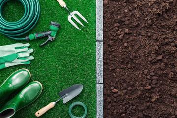 Tools in the garden
