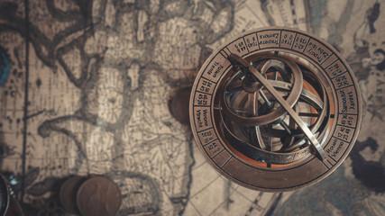 Armillary Zodiac Sign Sphere