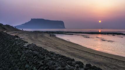 gwangchigi beach sunrise view
