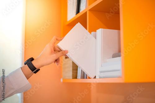 background bookshelf form on isolated speech depositphotos the of in bubble stock orange photo white