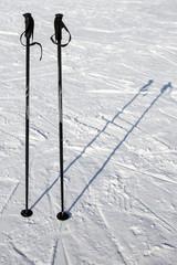 ski lift on snow