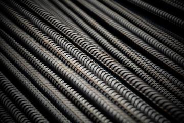 pile of steel bar