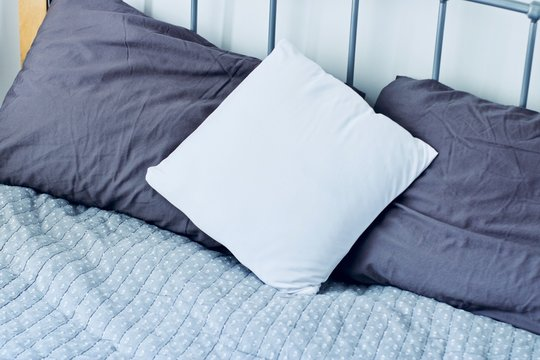 White pillow mockup