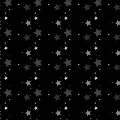 Star seamless pattern. Seamless pattern with stars.