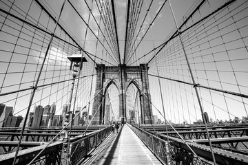 Brooklyn Bridge - Manhattan, New York, USA.