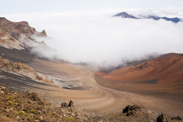 Haleakala Volcano landscape gorgeous