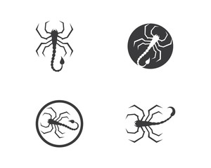 Scorpion Logo Template