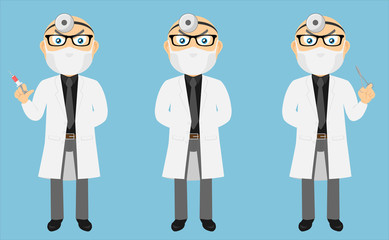 Lab Coat Doctor Set v1b
