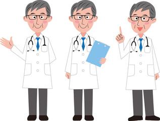 男性医師バリエーション