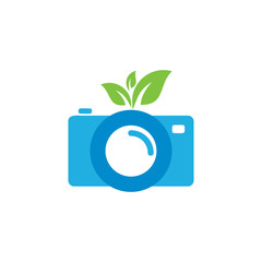 Nature Camera Logo Icon Design