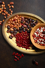 Raw beans mix