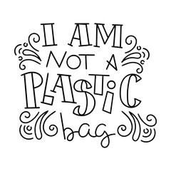 Hand drawn modern image with hand-lettering and decoration elements. Inspirational quote. Illustration for prints on t-shirts and bags, posters, cards.