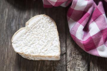 fromage fermier bio en cœur