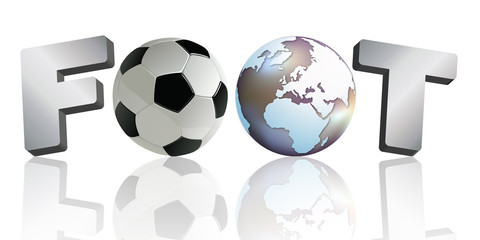 football - foot - but - ballon de foot - ballon - symbole - coupe du monde - mot - footballeur - monde