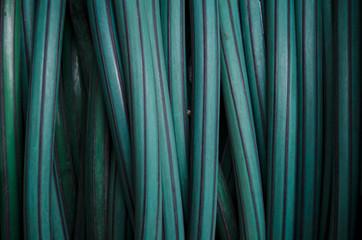Fondo textura manguera verde.