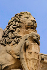 Malta, Valletta, Löwe, Symbol