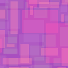 Vector Abstract Background with Rectangles in Pink color.