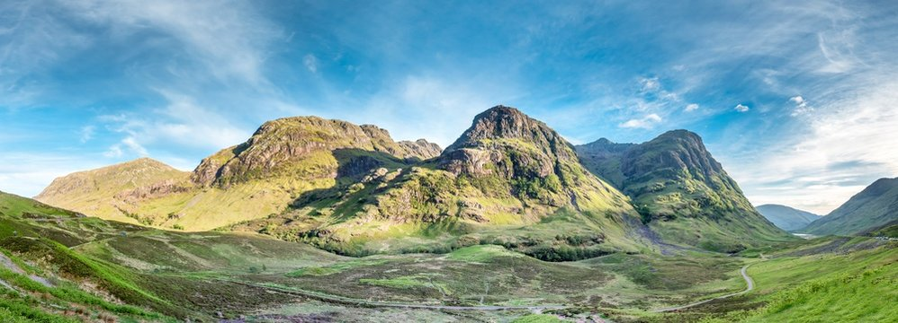 The amazing landscape of Glencoe with it's three sisters