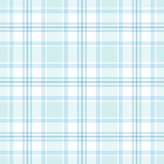 Seamless tartan plaid pattern. Checkered fabric texture background.