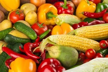 Fresh produce close up