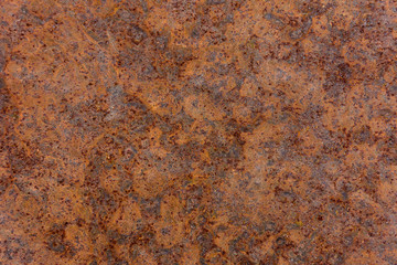 Poster de jardin Metal Wonderful brown background of rusty metal plate with corrosion