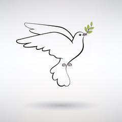 Symbol Dove of Peace