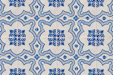 Azulejos Mosaique mosaïque carrelage texture bleu et blanc