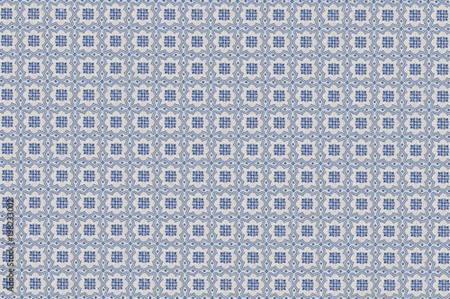 Azulejos Mosaique Mosaique Carrelage Texture Bleu Et Blanc
