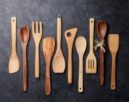 Various cooking utensils