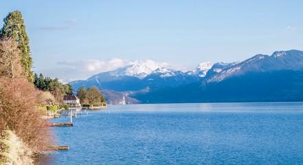 Lac d'Annecy, Haute-Savoie, France