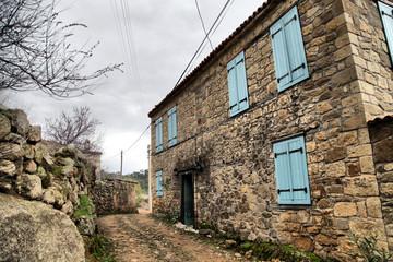 Adatepe Village on the foothills of the Ida Mountains
