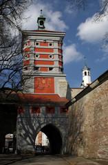 Augsburg Rotes Tor - Torwallanlage an der Freilichtbühne