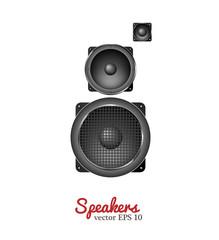 Vector sound speaker, loudspeaker icon