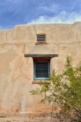 Historic Adobe Window Southwest Creosote Street