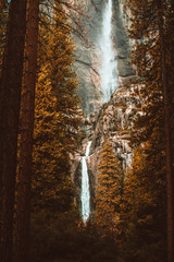 Double Waterfall Autumn