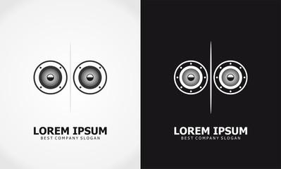 music icon sound logo