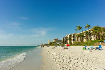 Vanderbilt beach in Naples, Florida