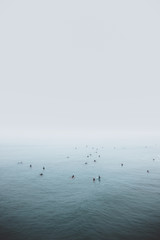 Foggy Surfing Lineup 2