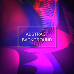 Abstract background. Fluid. Unusual. Volume. Trend gradient. For your design.