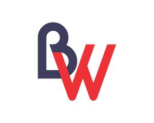 BW initial alphabet typography typeface typeset logotype alphabet image vector icon
